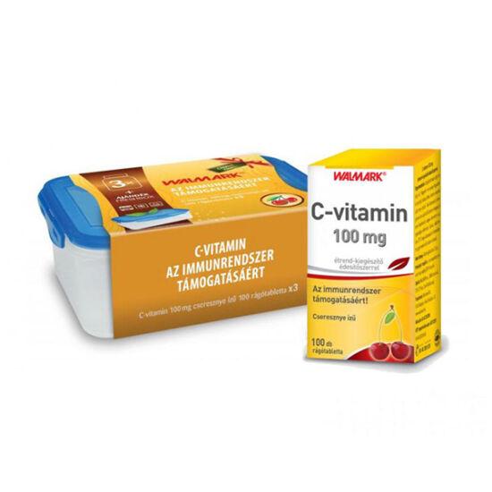Walmark C-vitamin 100 mg cseresznye ízű rágótabl. (3x100x)