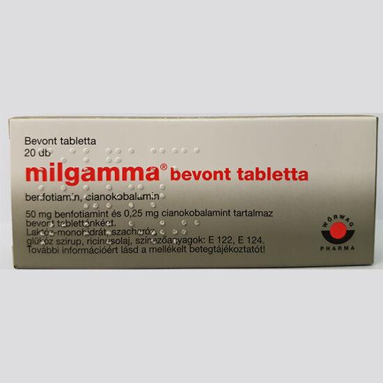 Milgamma bevont tabletta 20x