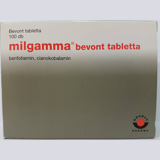 Milgamma bevont tabletta 100x