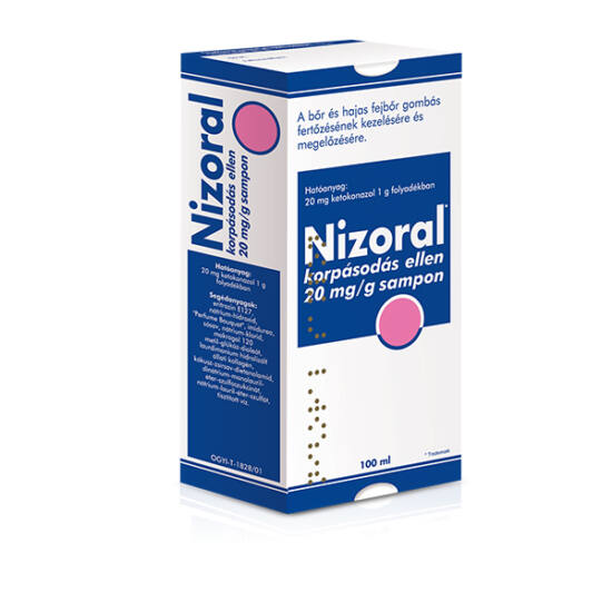 Nizoral korpásodás ellen 20 mg/g sampon