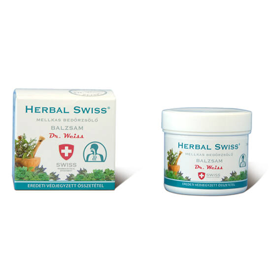 Herbal Swiss Medical bedörzsölő balzsam
