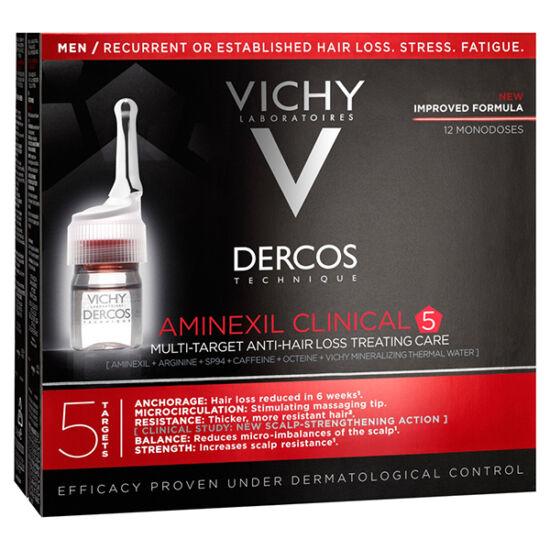 Vichy Dercos Aminexil Clinical 5 hajhullás ellen férfiaknak 21x6ml