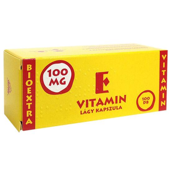 Bioextra E Vitamin lágy kapszula 100mg 100x