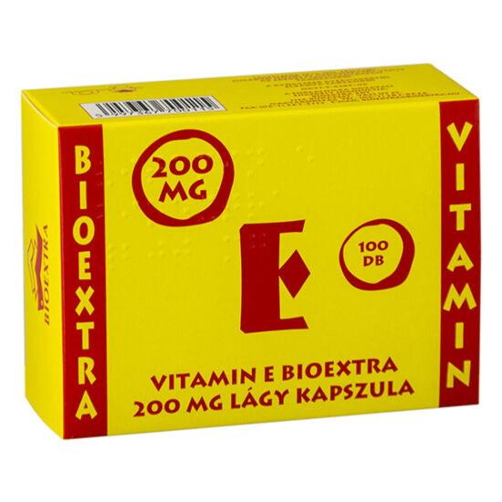 Bioextra E Vitamin 200 mg lágy kapszula 100x