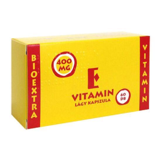 Bioextra E Vitamin 400 mg lágy kapszula 60x