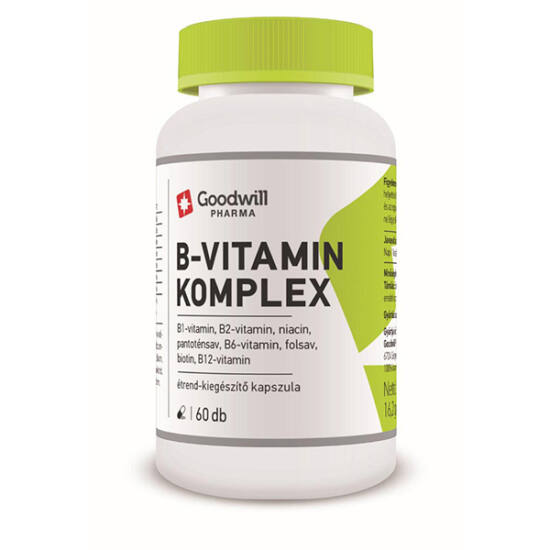 Goodwill B-vitamin komplex étrend-kiegészít? kapszula