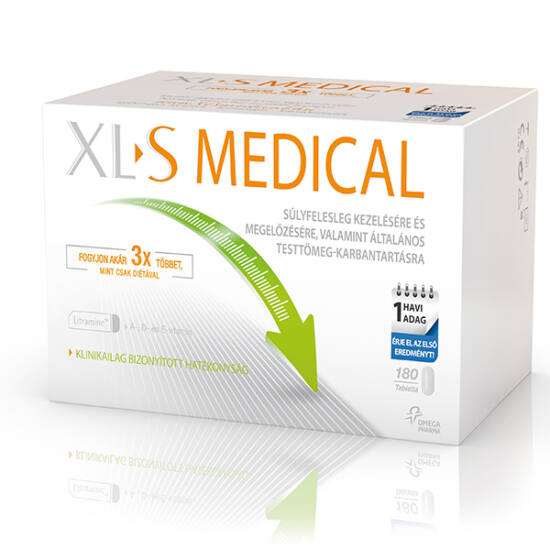 XL-S (XLS) Medical Zsírmegkötő tabletta 180x