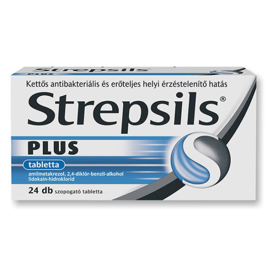 Strepsils Plus tabletta