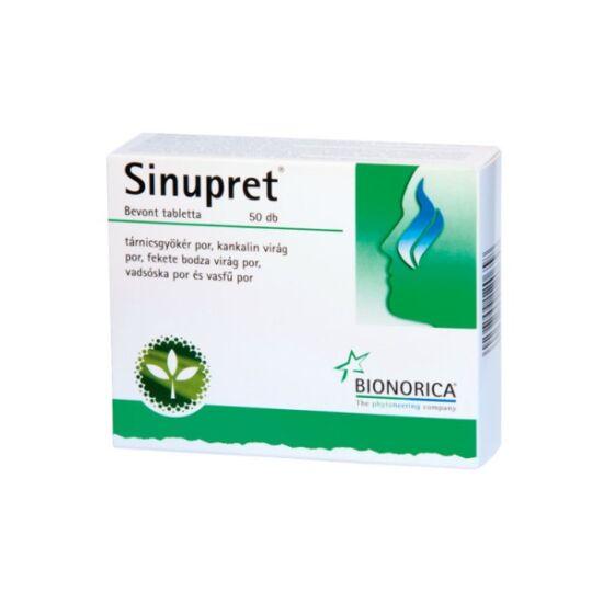 Sinupret bevont tabletta (50x)