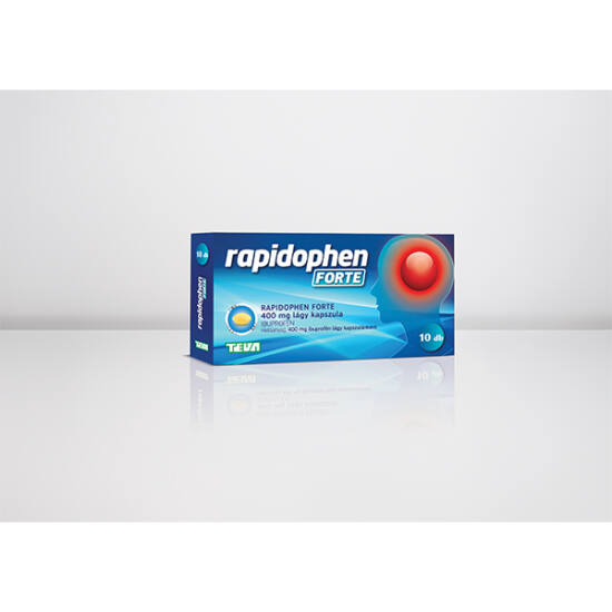 Rapidophen FORTE 400 mg lágy kapszula 10x