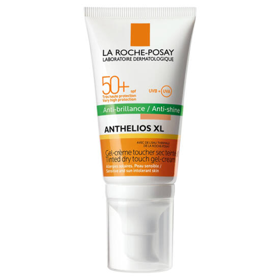 LRP Anthelios XL színezett mattító hatású gél-krém SPF 50+ 50 ml