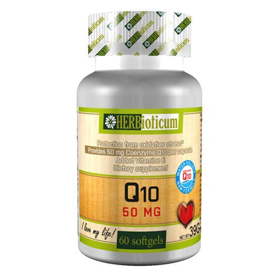 Herbioticum Q10 50 mg vízzel elegyedő kapszula (60x)