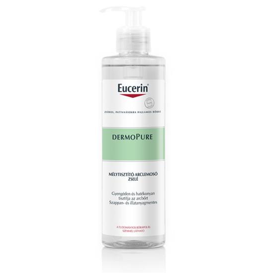 Eucerin DermoPURIFYER Mélytisztító arclemosó zselé 400ml