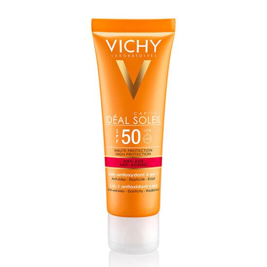 Vichy Idealia Soleil krém Anti-Age SPF50+ 50ml