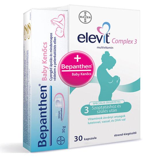 Elevit Complex 3 + Bepanthen baby ken?cs csomag
