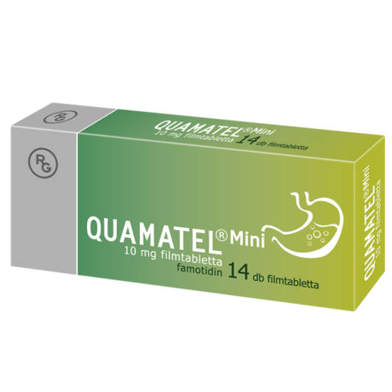 Quamatel Mini 10 mg filmtabletta