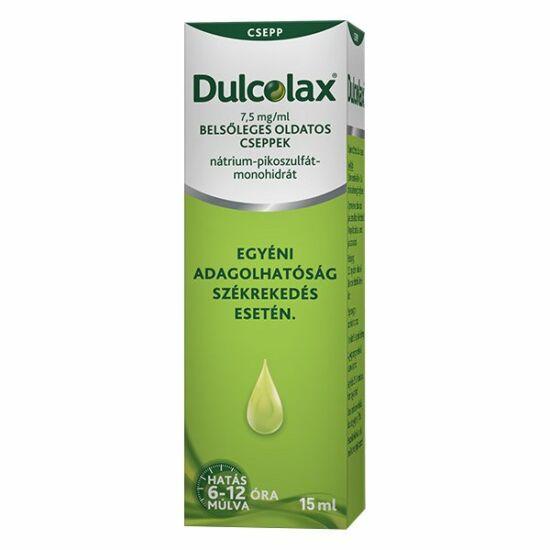 Guttalax 7,5 mg/ ml bels?leges oldatoscseppek 15 ml