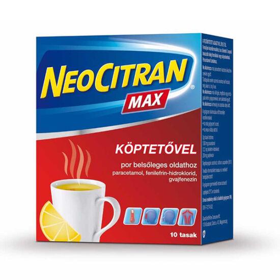 Neo Citran Max köptetővel por belsőleges oldathoz