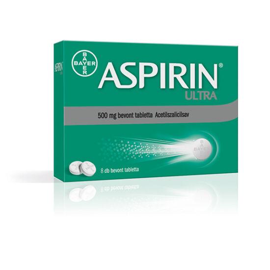 Aspirin Ultra 500 mg bevont tabletta (8x)