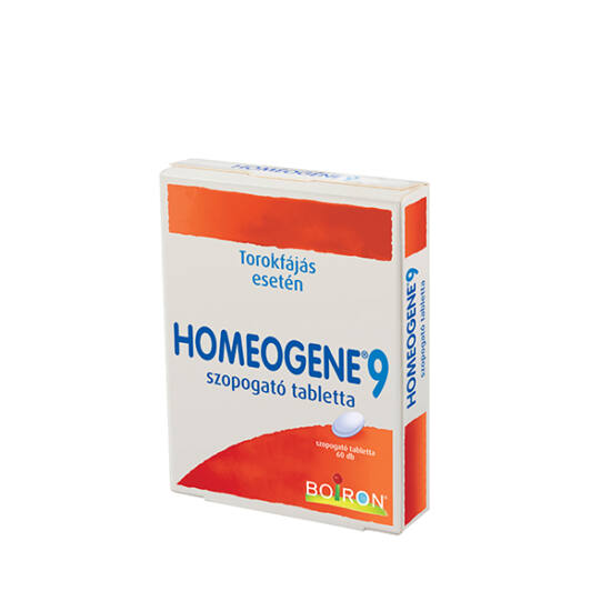 Homeogene 9 szopogató tabletta (60x)