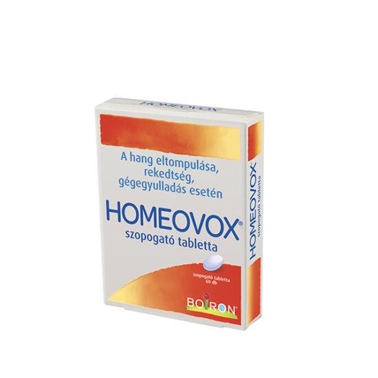 Homeovox szopogató tabletta (60X)