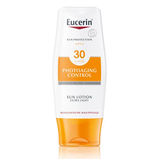 Eucerin Sun Photoaging napozó testre FF30 150ml