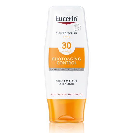 Eucerin Sun Photoaging napozó testre FF30 150ml