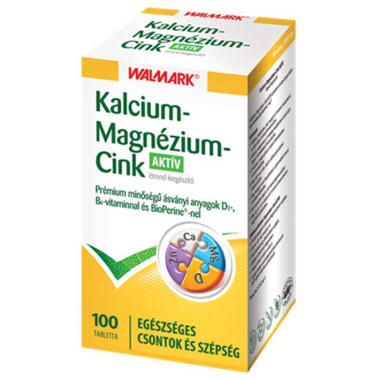 Wamark Kalcium+ Magnézium+ Cink Aktív 100x