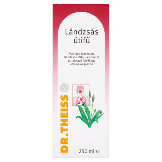 Dr.Theiss Plantago Lanceolata Lándzsás utif? folyadék (250ml)