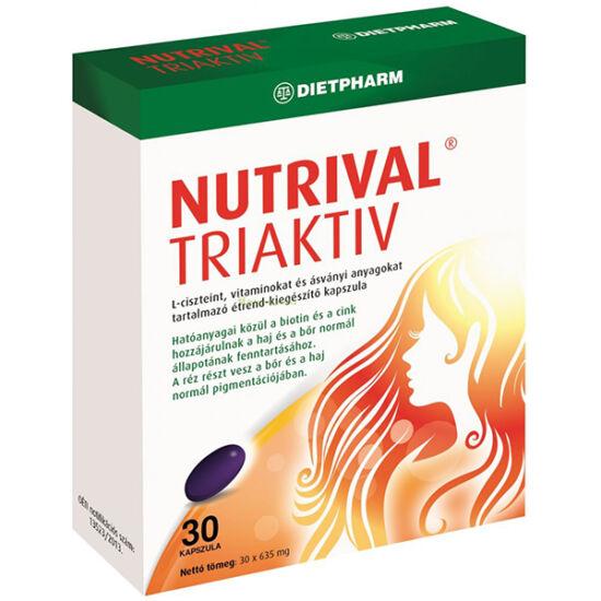 Dietpharm Nutrival Triaktív kapszula (30x)