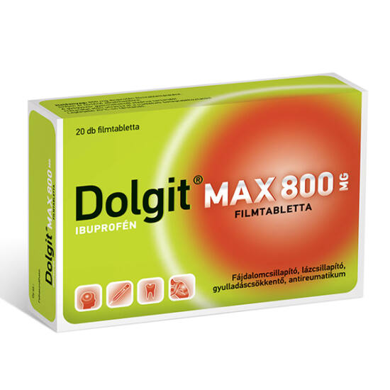 Dolgit Max 800 mg filmtabletta (20x)