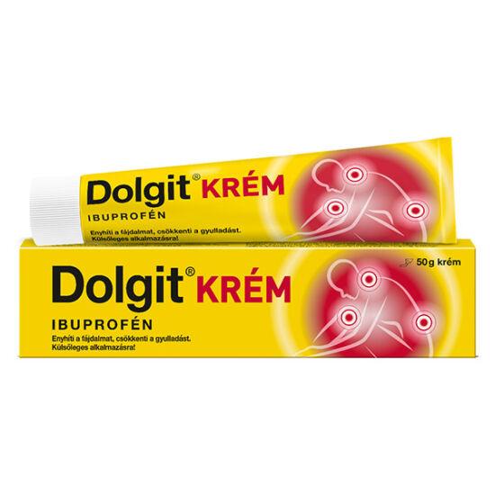 Dolgit krém (régi név: Ibutop) 50g