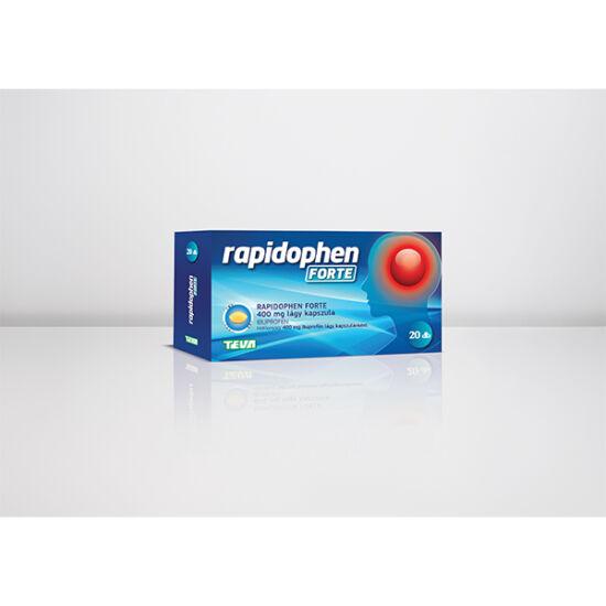 Rapidophen FORTE 400 mg lágy kapszula 20x