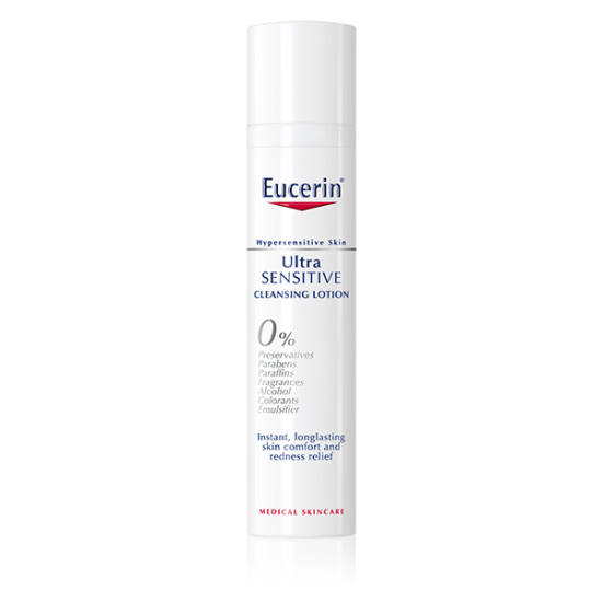 Eucerin UltraSensitive arctisztító tej 100ml