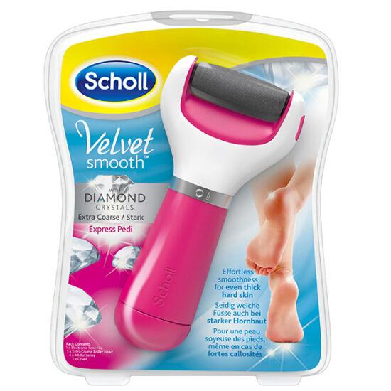 Scholl Velvet elektromos talpreszelő pink