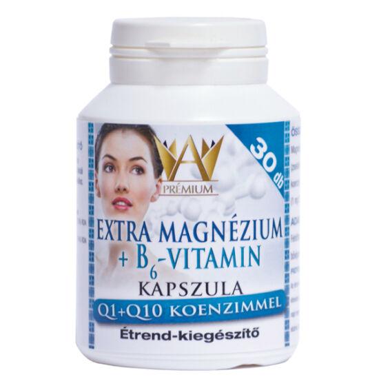 Prémium Extra Mg+B6+Q1+Q10 kapszula (30x)