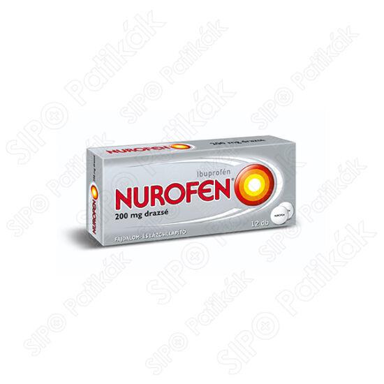 Nurofen 200 mg bevont tabletta 12x