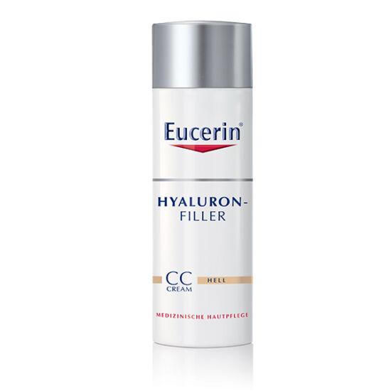 Eucerin Hyaluron-Filler Ráncfeltöltő színezett nappali CC krém világos árnyalat