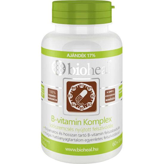 Bioheal B-vitamin Komplex id?szemcsés kapszula 70x