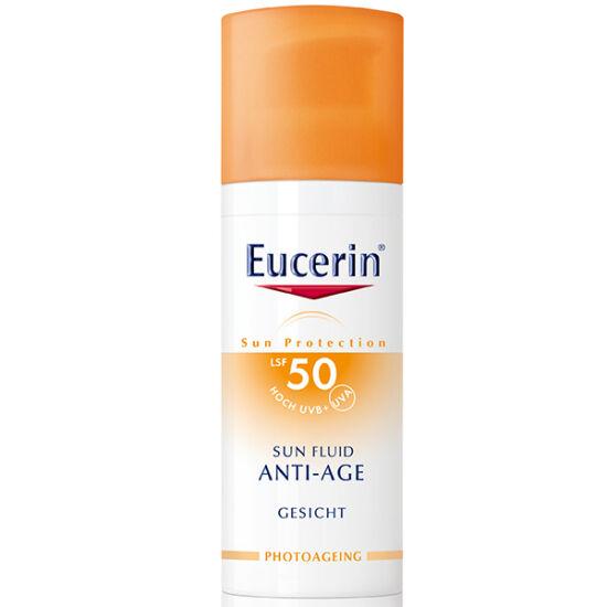 Eucerin Sun Anti-age napozókrém arcra