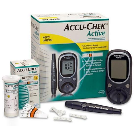 AccuChek Active vércukorszintmérő készülék