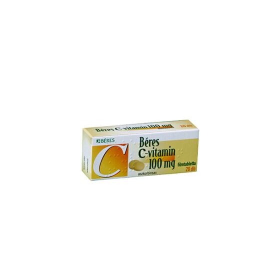 Béres C-vitamin 100 mg filmtabletta 20x