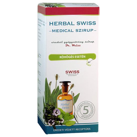 Herbal Swiss Medical szirup 150ml