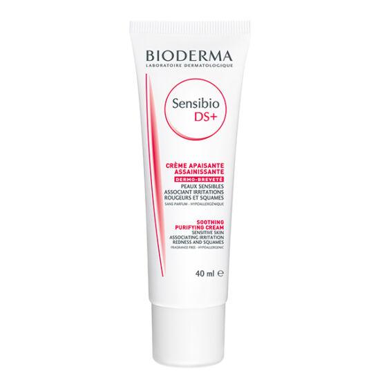 Bioderma Sensibio DS+ nyugtató és tisztító krém 40 ml