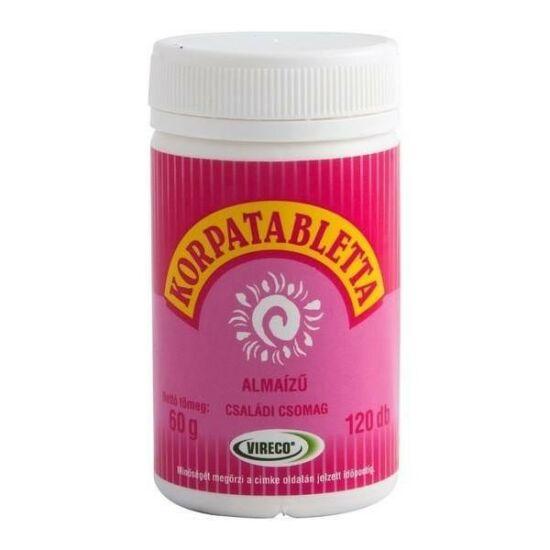 Korpa tabletta alma íz? (120x)