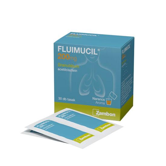 Fluimucil 200 mg granulátum (30x1g)