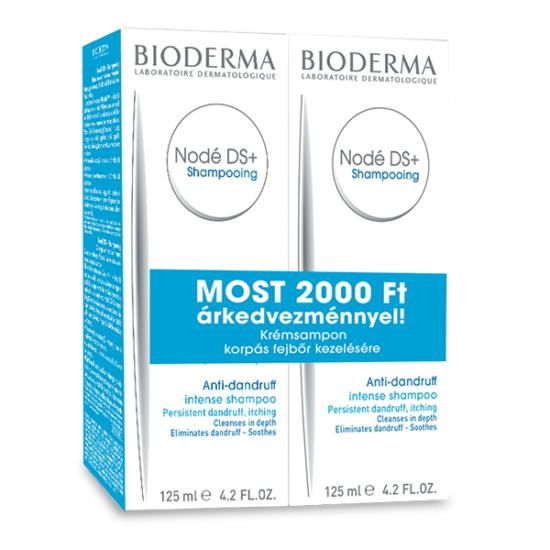 Bioderma Nodé DS sampon DUO pack 2x125ml