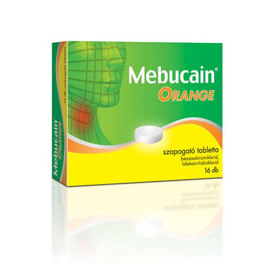 Mebucain Orange szopogató tabletta 16x