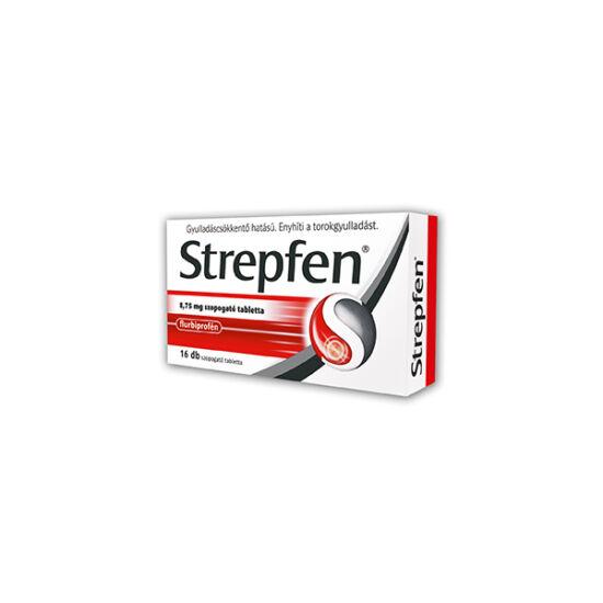 Strepfen 8,75 mg szopogató tabletta 16x