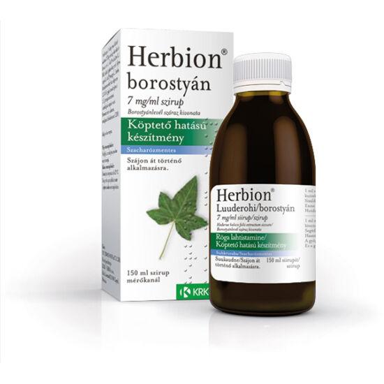 Herbion borostyán szirup 150ml